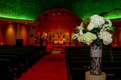 Free Church Of The Annunciation, Cranston, RI Royalty Free Stock Photography - 117743707