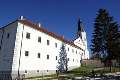 Free Church Of The Annunciation In Klanjec, Croatia Royalty Free Stock Photo - 177117055