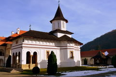 Church Of The Monastery Sambata, Fagaras. Royalty Free Stock Images