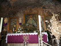 Church Of The Virgin Of The Rock In Mijas In The Mountains Above The Costa Del Sol In SpainDonkey In Stock Images