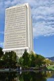 Church Office Building at Temple Square in Salt Lake City, Utah stock image