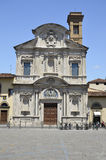 Church of Ognissanti, Florence Royalty Free Stock Photos