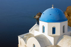 Church in Oia Royalty Free Stock Image