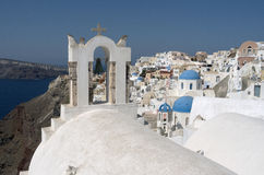 Church in Oia. Royalty Free Stock Image