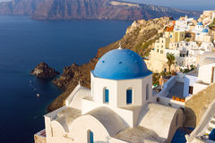Church in Oia, Santorini Stock Photography