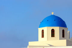 Church in Oia, Santorini Stock Photos
