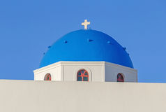 Church in Oia on Santorini Stock Images
