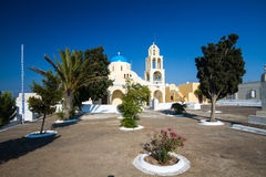 Church. In oia, santorini, greece Royalty Free Stock Image