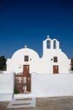 Church. In oia, santorini, greece Royalty Free Stock Photo
