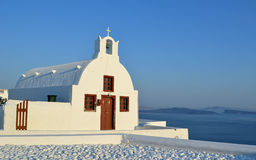 Church Oia Santorini Stock Images