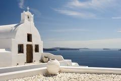 Church in Oia, Santorini Stock Photos