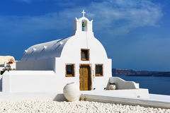 Church in Oia Royalty Free Stock Images