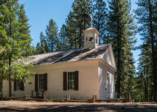 Church in an old California mining town Royalty Free Stock Photo