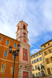 Church in the old city of Nice, French Riviera Royalty Free Stock Photo