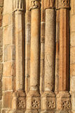 Church old columns Royalty Free Stock Images
