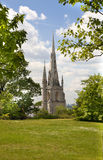 Church in Old English park south of London. Royalty Free Stock Photo