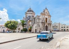 Church in old Havana Royalty Free Stock Photography