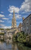 The Church In The Old Town Of Harfleur, France Royalty Free Stock Photo