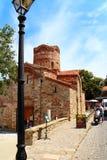 Church in Old Nesebar. Church of St. John the Baptist in Old Nesebar Royalty Free Stock Photo