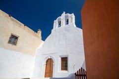 Church. Old church in oia vilage, santorini Royalty Free Stock Photo