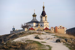 Church in Old Orhei, Moldova Royalty Free Stock Image