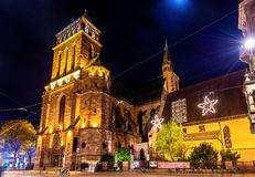 The Church of Old Saint Peter in Strasbourg Stock Image
