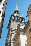 Church of old Tallin Royalty Free Stock Images