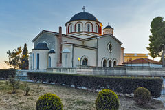 Church in old town of city of Kavala, Greece Royalty Free Stock Photo