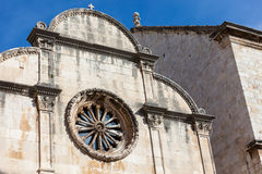 Church in old town Dubrovnik Royalty Free Stock Photography