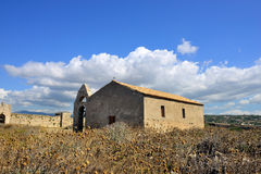 Church in old town Methoni Royalty Free Stock Image