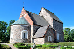 Church of Old Uppsala Stock Photos