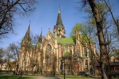 Church of Olga and Elizabeth, Lviv Stock Images