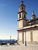 Church of Olvera Stock Images