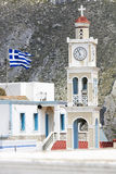 Church in Olympos village, Karpathos, Greece Royalty Free Stock Image