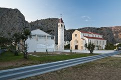 Church in Omis Royalty Free Stock Photos