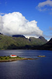 Church On Lofoten Islands Stock Photography