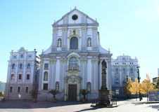 Church in Opava Royalty Free Stock Photos