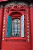 Church open window. Epiphany church in Yaroslavl, Russia. Royalty Free Stock Photo