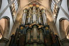 Church organ Stock Photography