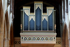 Church organ Royalty Free Stock Image
