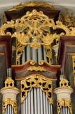 Church organ baroque Royalty Free Stock Images