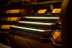 Church organ II Royalty Free Stock Images