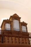 Church organ Royalty Free Stock Photo