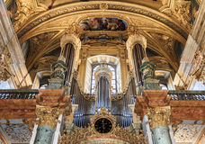 Church organ Royalty Free Stock Photography