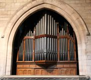 Church Organ. Royalty Free Stock Images