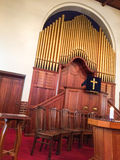 Church organ, Western Cape Province, South Africa. Stock Photography