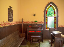 Church Organ by Window Royalty Free Stock Photos