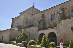 Church in Oropesa Stock Photography