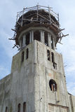 Church orthodox dome tower construction site Royalty Free Stock Photos