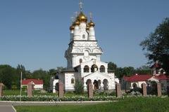 Church. Orthodox church in Horlovka, Ukraine Stock Photography